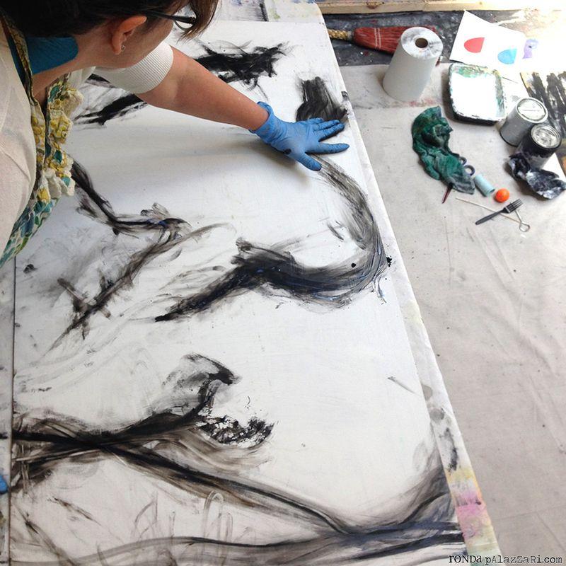 Ronda Palazzari Abstract 10