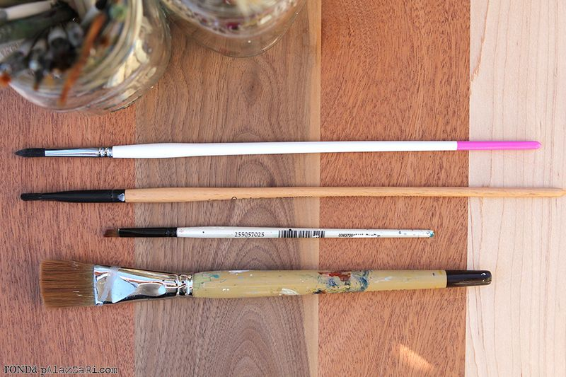 Ronda Palazzari Paint Brushes 2