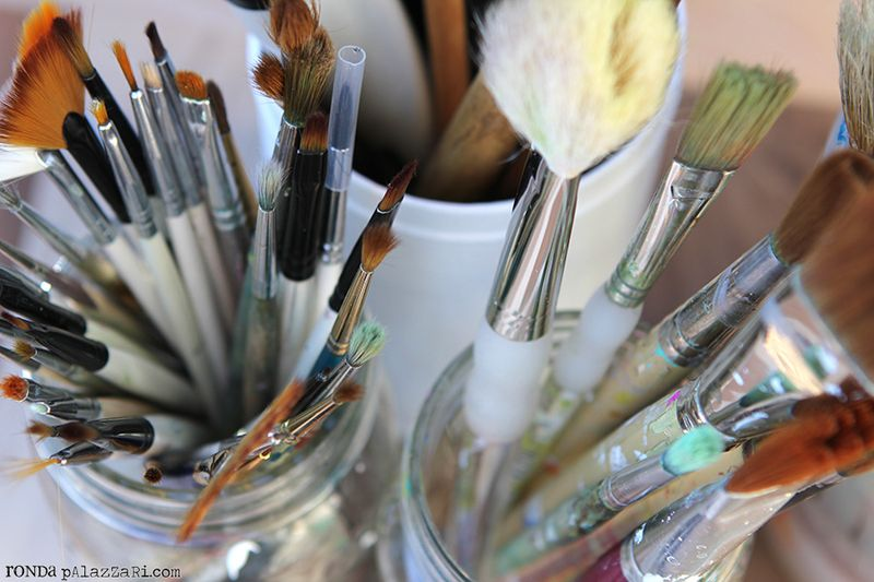 Ronda Palazzari Paint Brushes