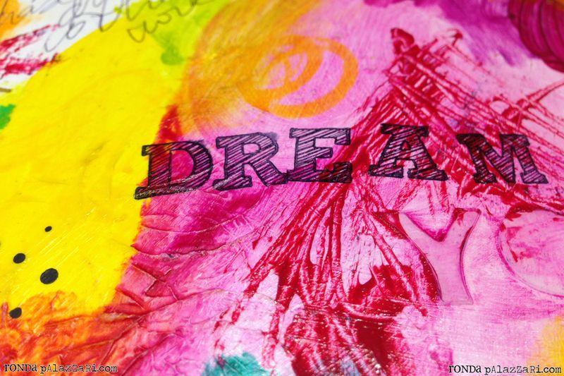 Ronda Palazzari Dream Art Journal details