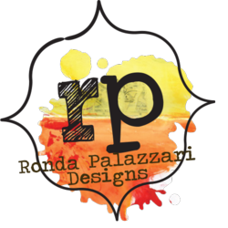 Ronda Palazzari Orange Yellow Logo