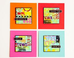Geometric Art Cards by Cheiron Brandon_