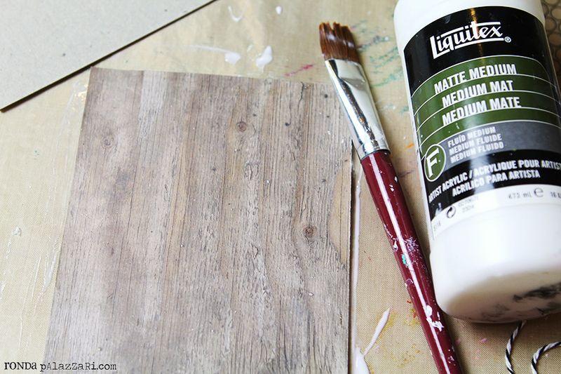 Ronda Palazzari 12 Days Art Journal Album tutorial 2