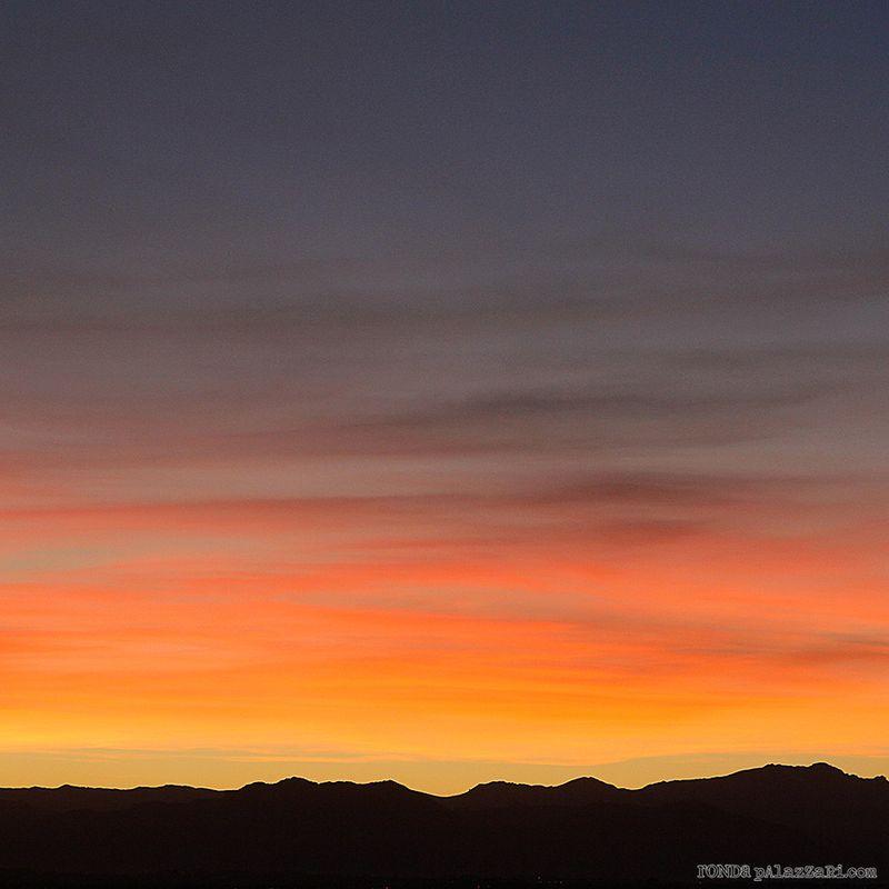 Ronda Palazzari Fall Sunset