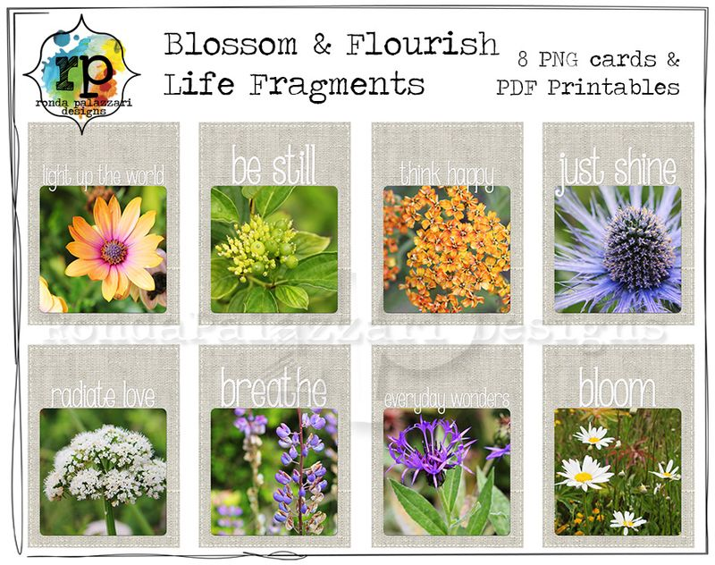Ronda Palazzari Blossom & Flourish Life Fragments Sample