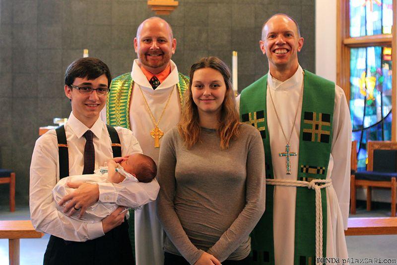 Ronda Palazzari Baptism