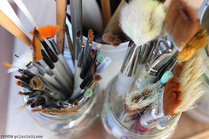 Ronda Palazzari Paint Brushes 1