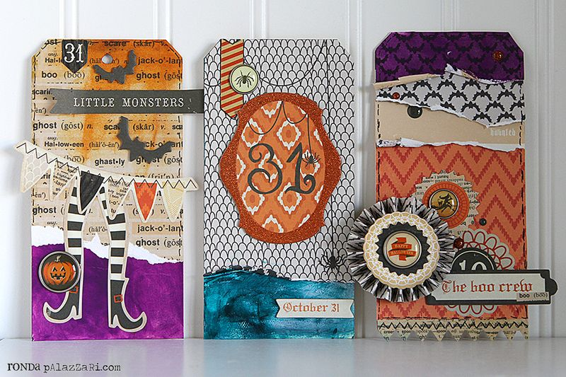 Ronda Palazzari MME Halloween Tags