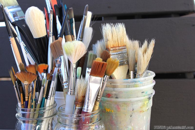 Ronda Palazzari Paint Brushes 3