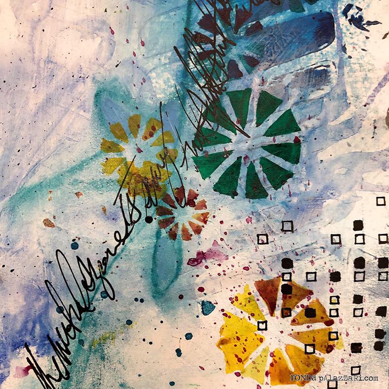 Ronda Palazzari Courage Art Journal